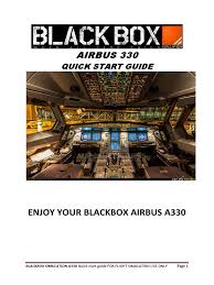 a330 quickstartguide for fsx aircraft flight control system