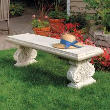 Patio Bench Designs by Stone Patio Bench Home Design Ideas And Pictures