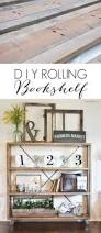 diy industrial cart bookcase diy bookcases tutorials and industrial