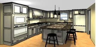 kitchen design layouts with islands layout but wall island would be taken so open