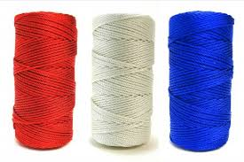 rosary twine patriotic 36 knotted rosary cord twine bundle rosary cord