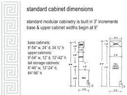 Standard Kitchen Overhead Cabinet Depth Depth Idea Kitchen - Kitchen cabinet height