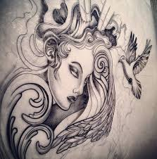 42 best angel tattoo sketches images on pinterest angels tattoo