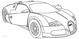 Bugatti Coloring Pages Vitlt Com Cars Coloring Pages