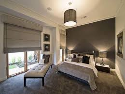fair picture of modern grey bedroom decoration using dark grey