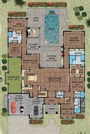 House Plans Single Story Best 20 Courtyard House Plans Ideas On Pinterest House Floor