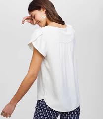 white blouses white blouses for loft