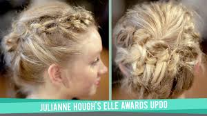 how to make your hair like julianne hough from rock of ages julianne hough s updo from the 19th annual elle awards youtube