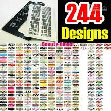 metallic nail foil wraps new fashion 244 designs metallic nail foils minx wraps decal