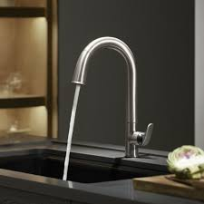 Touch Activated Kitchen Faucets Famous Kohler No Touch Kitchen Faucet U2013 Best Photo