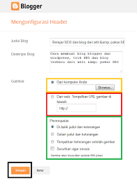 cara membuat background di blog wordpress cara mengganti background header blog belajar seo blog bisnis