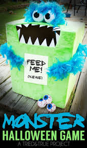 feed the monster halloween game 15 super fun diy halloween party