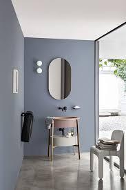 Bathroom Mirror Decorating Ideas Colors Best 25 Oval Bathroom Mirror Ideas On Pinterest Half Bath
