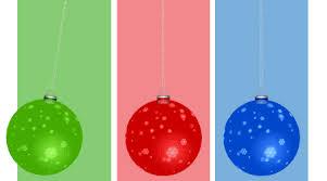 Animated Christmas Decorations Gif by Swinging Three Xmas Tree Balls Gif Animation Free Wallpaper