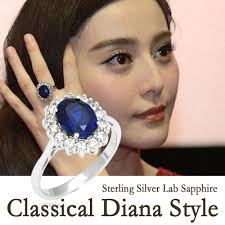 ring diana kate princess diana william 2 5ct blue sapphire engagement wedding