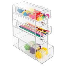 Clear Desk Organizer Interdesign Desktop Storage Unit Clear Target
