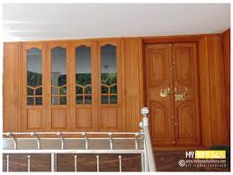 Kerala Style House Front Door Design