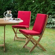 galette de chaise de jardin galette chaise jardin dehoussable chaise idées de décoration de