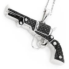 black diamond earrings mens black diamond jewelry sterling silver gun pendant 9ct