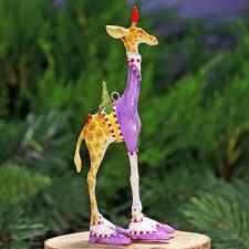 patience brewster mini george giraffe ornament