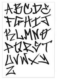 imagenes para dibujar letras graffitis resultado de imagen de pintar letras de graffitis abecedario