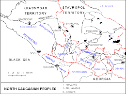map of abkhazia the book of the peoples of the russian empire