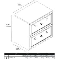 bush somerset lateral file cabinet bush lateral file cabinet bush lateral file cabinet in antique white