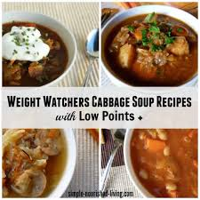 weight watchers cabbage soup diet recipes w points