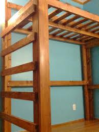 queen loft bed frame chicago loft bed