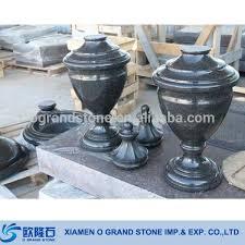 Graveside Flower Vases Arc Black Granite Flower Vase For Grave Stone Tombstone Buy Vase