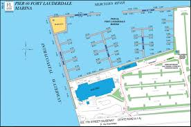 Map Of Ft Lauderdale Overview Maps At Fort Lauderdale International Boat Show 2016