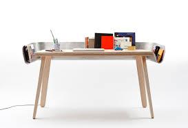 Sawed Apart Table Desk Home Office Contemporary Design Using Big - Designer home office desk