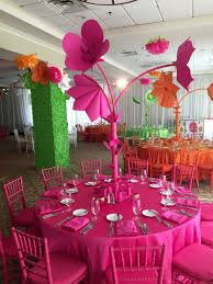 paper flower centerpieces bat mitzvah centerpieces search s batmitzvah