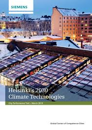 helsinki u0027s 2030 climate technologies city performance tool