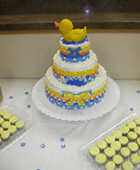 rubber ducky themed baby shower photo ideas for a rubber image