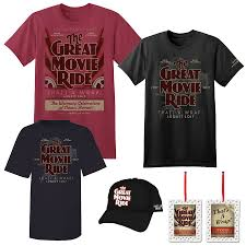 halloween horror nights shirts commemorative merchandise for the closing of the great movie ride