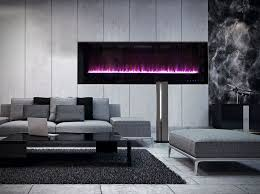 white fireplace design and technology