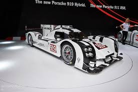 porsche 919 porsche 919 hybrid breaks cover in geneva live photos