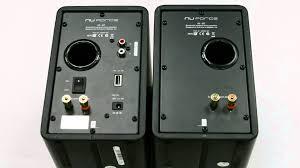 Review Bookshelf Speakers Nuforce S3 Bt Audiophile Apt X Aac Bluetooth Bookshelf Speakers