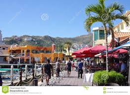 Map Of Cabo San Lucas Tourists In Cabo San Lucas Editorial Stock Image Image 64363819