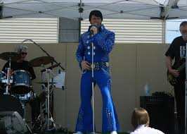 celebrating the king at elvis haircut day festival