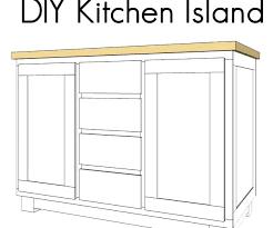 build kitchen island plans diy kitchen island plans bloomingcactus me