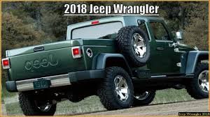jeep truck conversion 2018 jeep wrangler pickup youtube