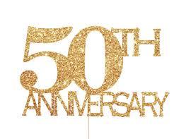 50th anniversary decorations 50th anniversary decorations 50th anniversary cake topper