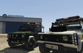 range rover defender pickup land rover defender 110 pickup irish police unlocked gta5 mods com