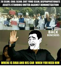 Scam Meme - 2g scam coal scam chit fund scam disproportionate assets standing