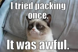 Moving Memes - the mountains are calling they call me the breeze a packing story