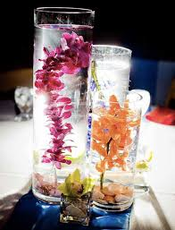 submerged orchids make great wedding centerpieces wedding