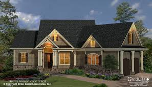 craftsman style home plans westbrooks cottage house plan house plans by garrell associates