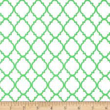 quatrefoil white lime discount designer fabric fabric com